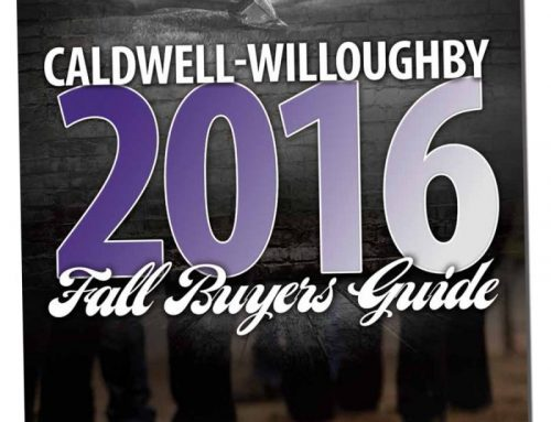 2016 Caldwell-Willoughby Fall Buyers Guide