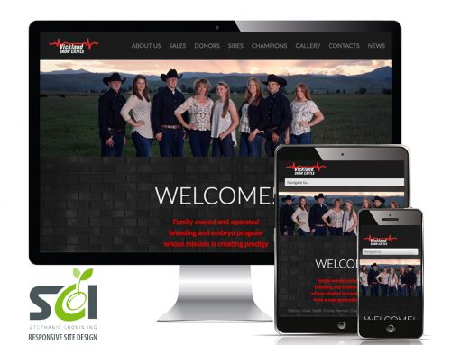 Vickland Show Cattle Responsive Site