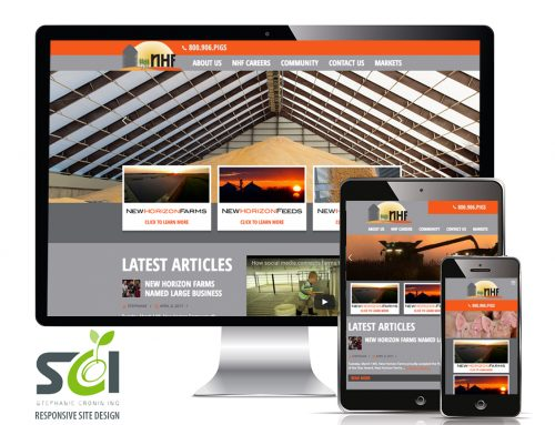 New Horizon Farms Responsive Site
