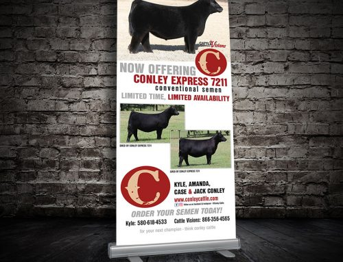 Conley Express Retractable banner