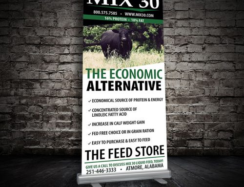Mix 30 retractable banner